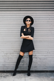 LBD'S UNDER $100, over the knee boots