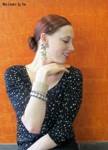 Starry Eyed, Stars, Star print, Fall, Vintage jewelry, Zara, Asos