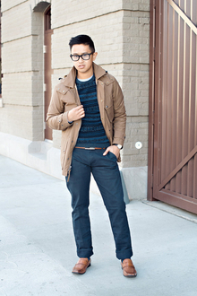 BROWN TO BLUE, winter, casual, holiday