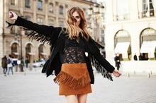 I NEVER WAVE BYE-BYE, fringe, lace, spring, suede