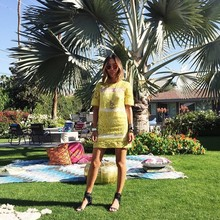 Yellow fever, LMfestival, music festival, coachella2015, lace dress, yellow