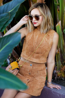 FESTIVAL FEVER, LMfestival, music festival, Coachella, suede, cross body bag, rounded sunglasses, mirror sunglasses, LMshades