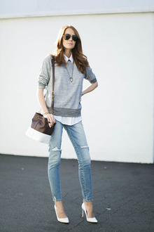 Amo Denim, LMdjeans, distressed jeans, sunglasses
