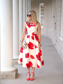 POPPY PRINT, LMclutch