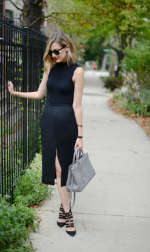 All Black, Almost Everything (See Jane Wear), workwear, all black, pencil skirt