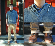 Casually Classic , oxfords, button down, pullover, fall, men, layers