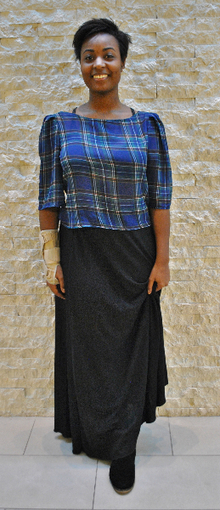 Pretty in Plaid , trend alert, plaid, maxi skirt, simple, fall, transitioning