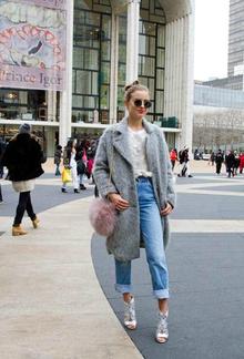 NYFW Street Style- Fur Bag, newyorkfashionweek, nyfw, streetstyle, nyfwstreetstyle