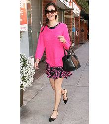 Pointed Toe Flat- Emmy Rossum, pointedtoe, pointedtoeflat, pointed