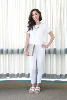 Relaxed Weekend Wear, lmallwhite, LMclutch