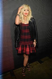 Glam Grunge- Rita Ora, glamgrunge, trend