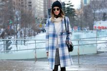 NYFW Street Style- Plaid , newyorkfashionweek, nyfw, streetstyle, nyfwstreetstyle