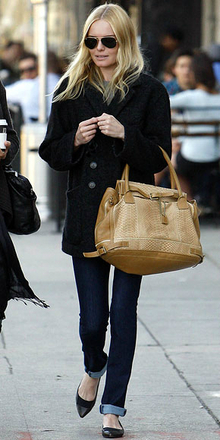 Pointed Toe Flat- Kate Bosworth , pointedtoe, pointedtoeflat, pointed