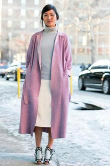 NYFW Street Style- Pink, newyorkfashionweek, nyfw, streetstyle, nyfwstreetstyle