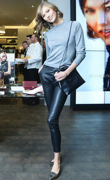 Pointed Toe Flat- Karlie Kloss, pointedtoe, pointedtoeflat, pointed