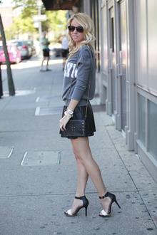 The Brooklyn Crew, pleated leather, sweater, trend, brooklyn