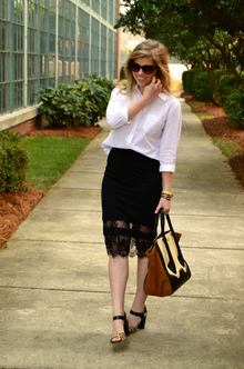 Who Wore It Best Contest, Date Night, TopShop, Lace, Leopard